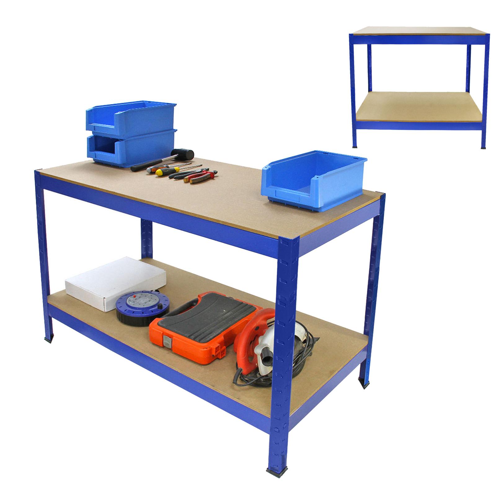 Work Bench Shelf Shed Rack Heavy Duty Industrial Metal
